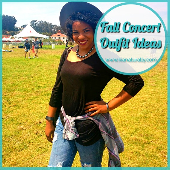 Fall Concert Outfit Ideas - www.kianaturally.com