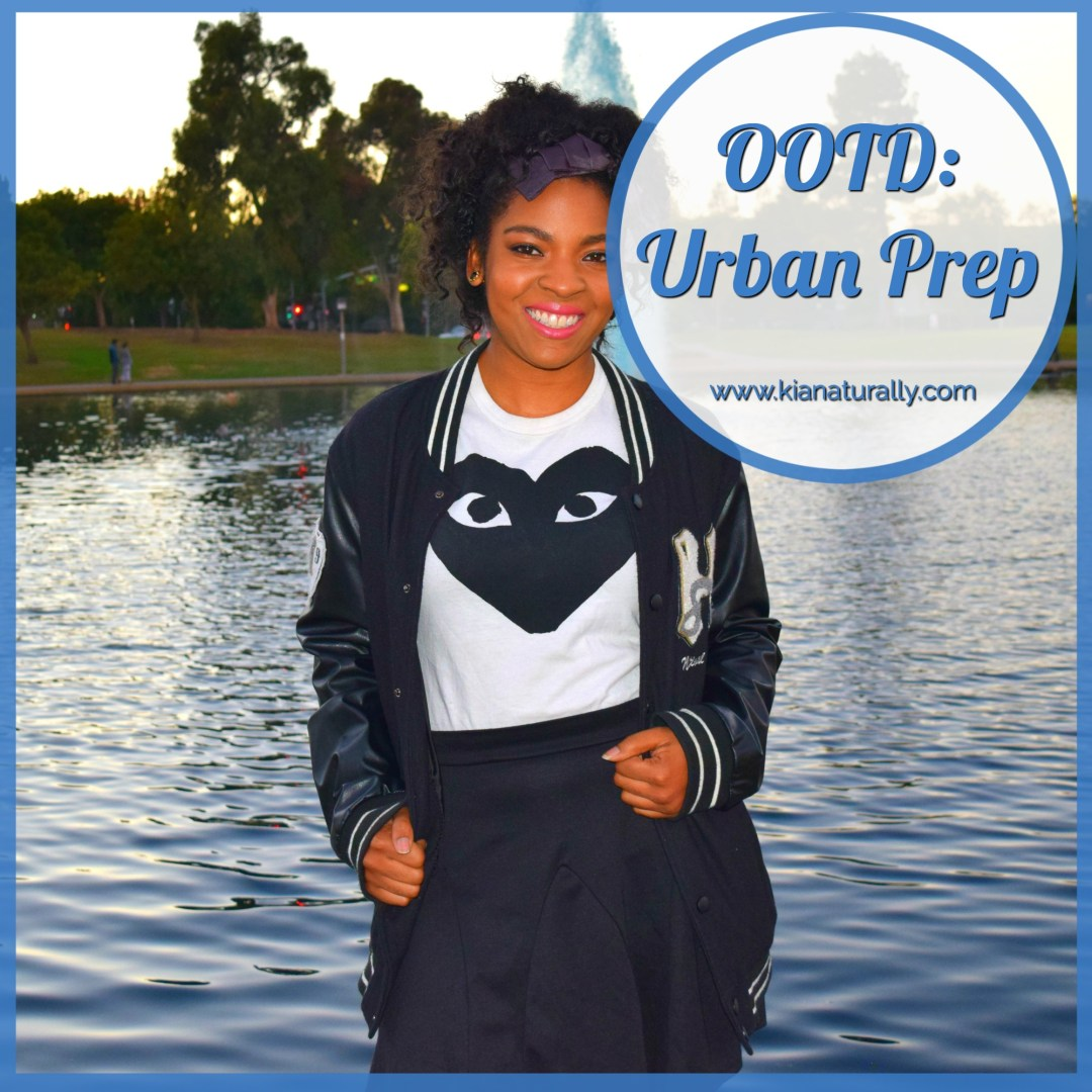 OOTD: Urban Prep - www.kianaturally.com