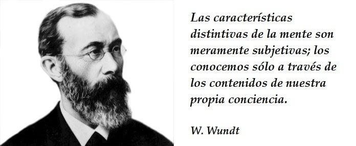 La psicología de la conciencia. WUNDT
