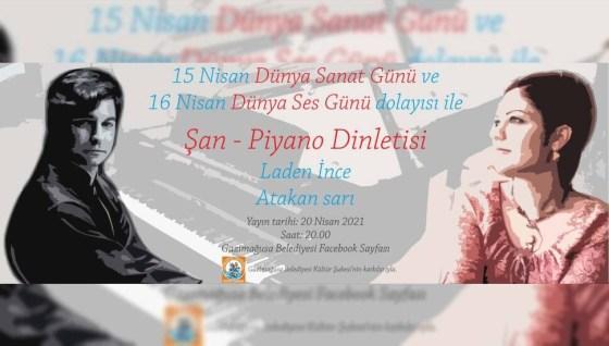 Διοργανώνεται συναυλία Glory - πιάνο από τους Laden İnce και Atakan Sarı