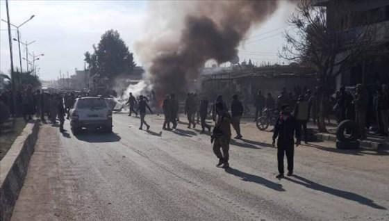 2 παιδιά σκοτώθηκαν, 4 άμαχοι τραυματίστηκαν κατά την επίθεση με βόμβα στο Rasulayn