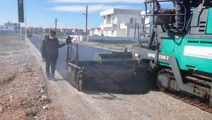 Συνεχίζονται οι εργασίες ασφάλτου στην περιοχή της Τούζλας