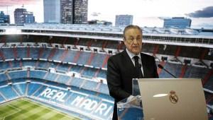 """Ο Πρόεδρος της Ρεάλ Μαδρίτης Πέρεζ κατηγόρησε την ΟΥΕΦΑ: """"Πρόγραμμα της Ευρωπαϊκής Σούπερ Λιγκ"""