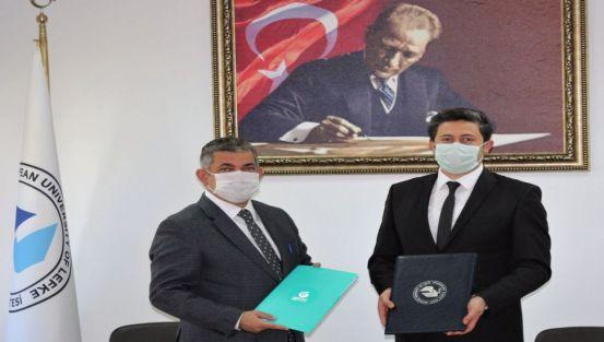 Πρωτόκολλο συνεργασίας μεταξύ της EUL και του Ινστιτούτου Yunus Emre