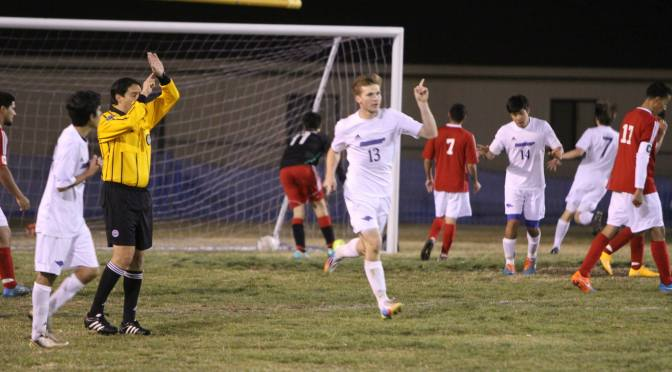 Bishop soccer beats Mojave