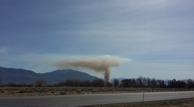 LADWP Controlled Burn Today