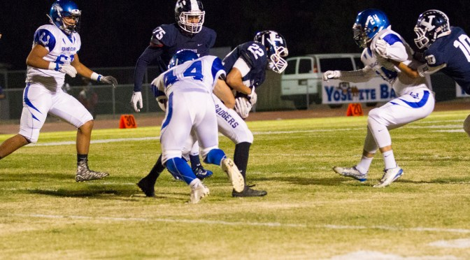 Bronco Varsity falls to Yosemite in Overtime