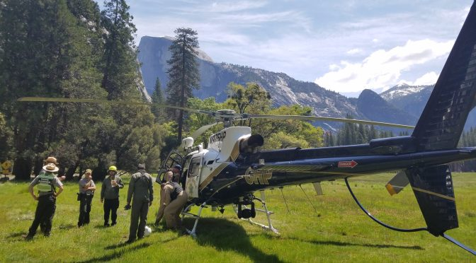 HIKER MISSING IN YOSEMITE