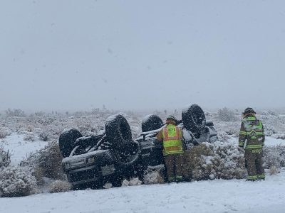 Winter Storm Causes Multiple Accidents Over Thanksgiving Weekend