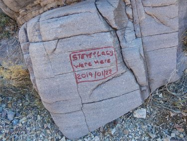 Death Valley Authorities Searching For Vandals