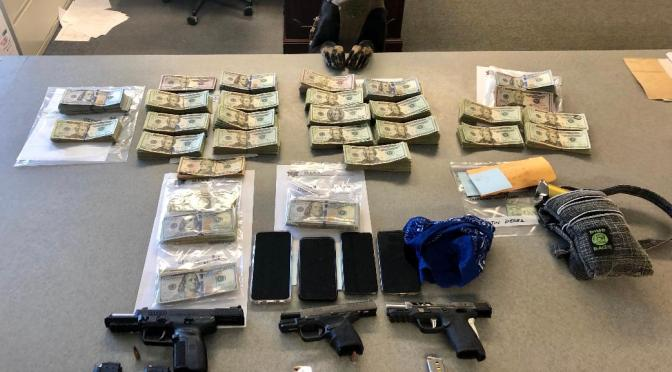 Lone Pine Traffic Stop Leads to Four Arrests