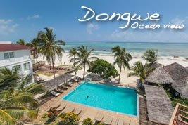 Dongweoceanview zanzibar accommodations deals