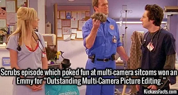 1854 Scrubs Multi Camera Episode