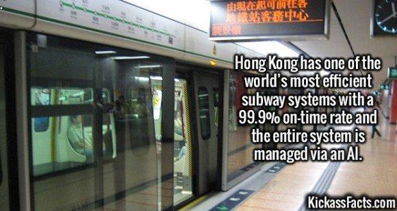 2704 Hong Kong Subway