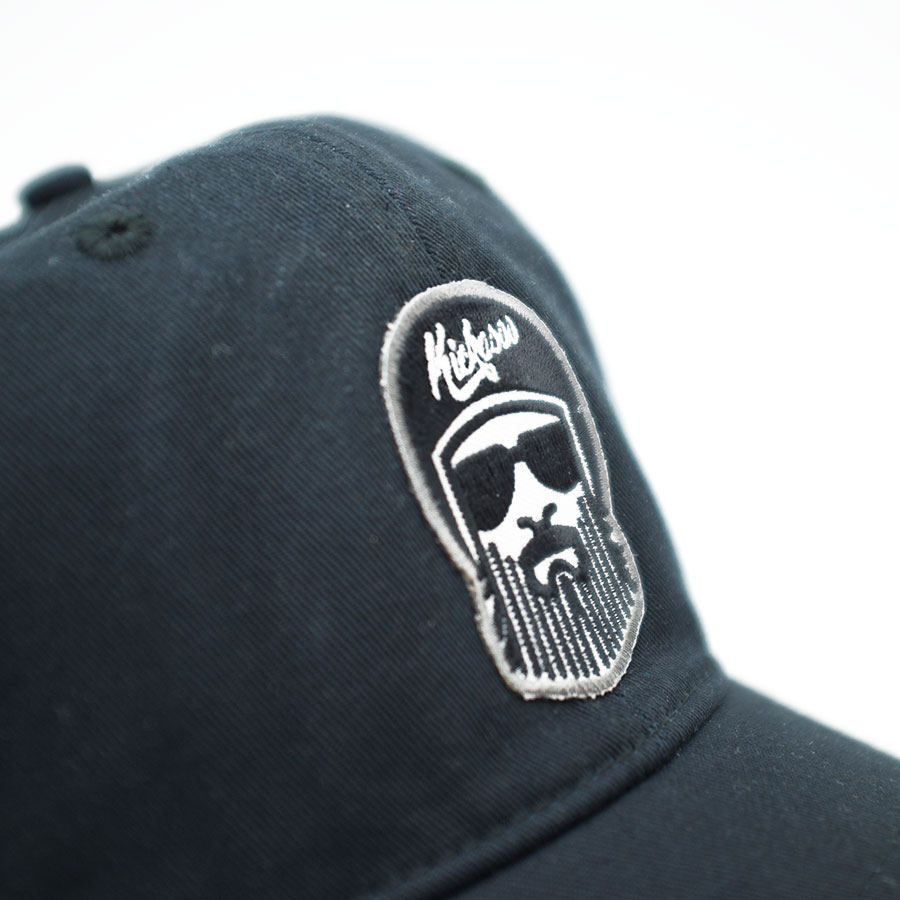 casquette_dad_driverbarbe_black_detail