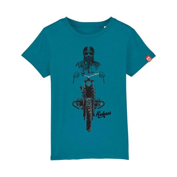 T-shirt enfant Kickasss Driver 19 (ocean depth)