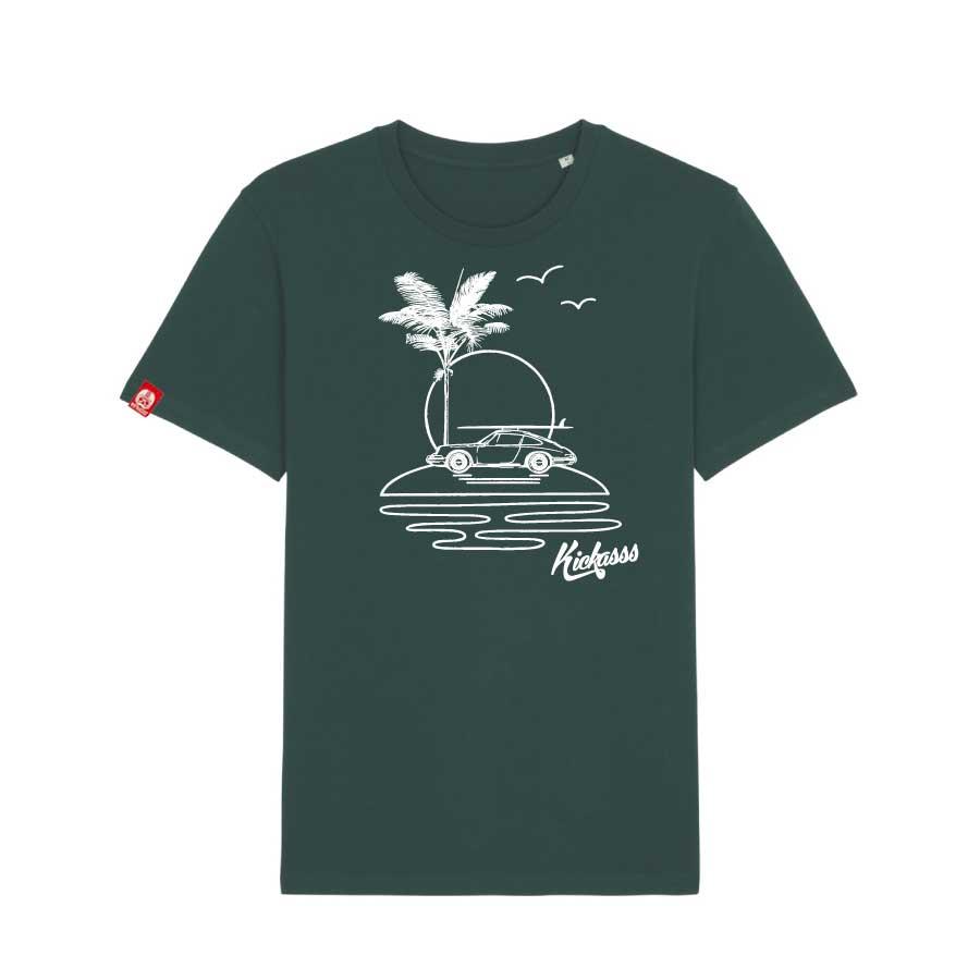 T-shirt kickasss All I need glazed green