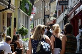 Norwich shopping street