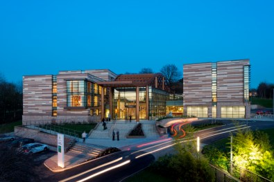 The eco Orchard Hotel is onsite at the University of Nottingham