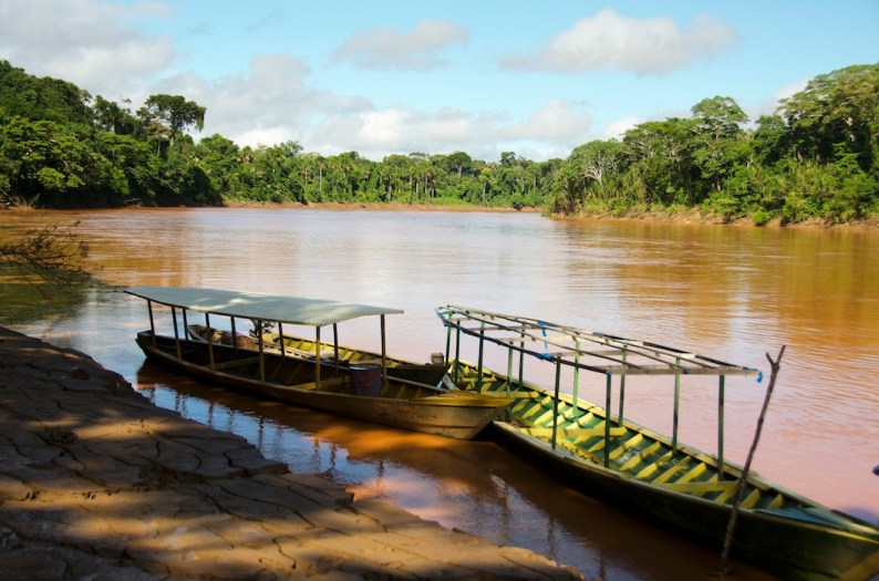 Manu biosphere amazon river