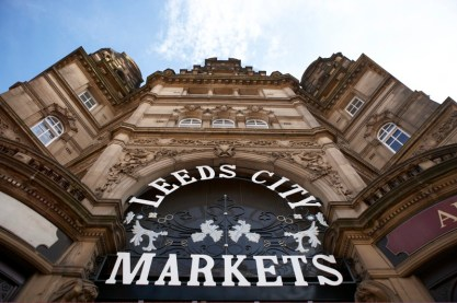 sign for Leeds City Markets