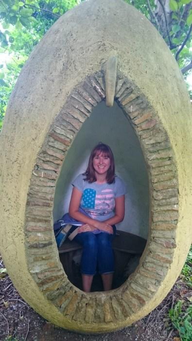 writer Jo at Stone Lane Gardens