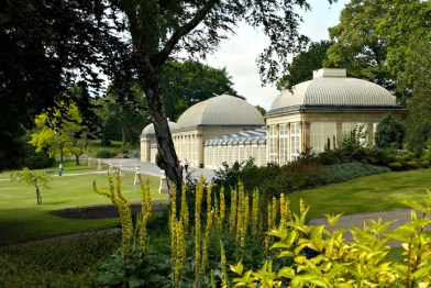 ..and pretty Botanical Gardens