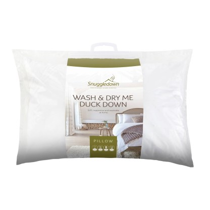 Snuggledown Wash & Dry Me Duck Down Pillow_Pack
