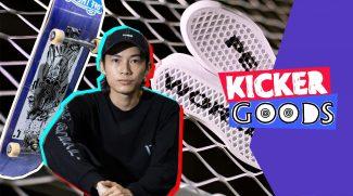 KickerGoods12 – 嗨仔和他的全新滑板装备