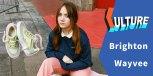#中文字幕  17 岁女滑手 Brighton Zeuner Wayvee 职业滑板鞋服系列