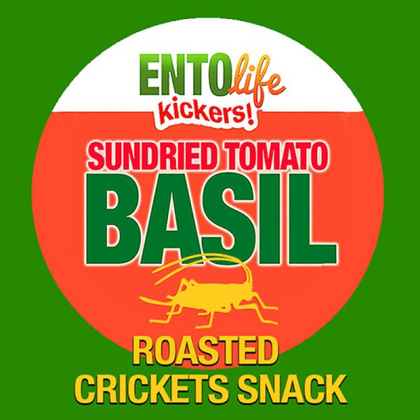 Edible Crickets Flavor Sundried Tomato Basil