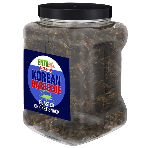 Jar 1lb Crickets Korean Barbecue Flavor