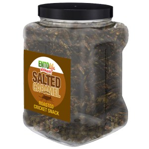 Jar 1lb Crickets Salted Caramel Flavor