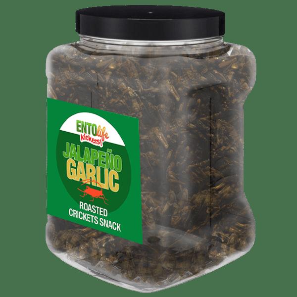 Pound Edible Crickets Jalapeno Garlic Flavor