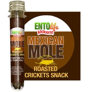 Edible Crickets Flavor Mexican Mole