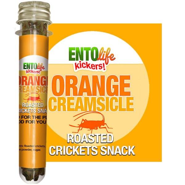 Edible Crickets Flavor Orange Creamsicle