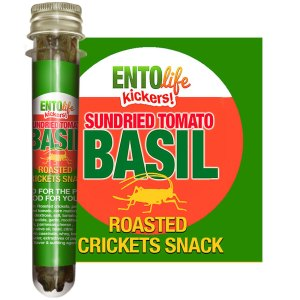 Edible Crickets Flavor Sundried Tomato Basil