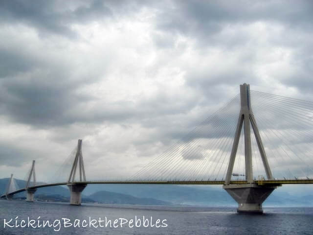 The Rion-Antirion Bridge | Kicking Back the Pebbles