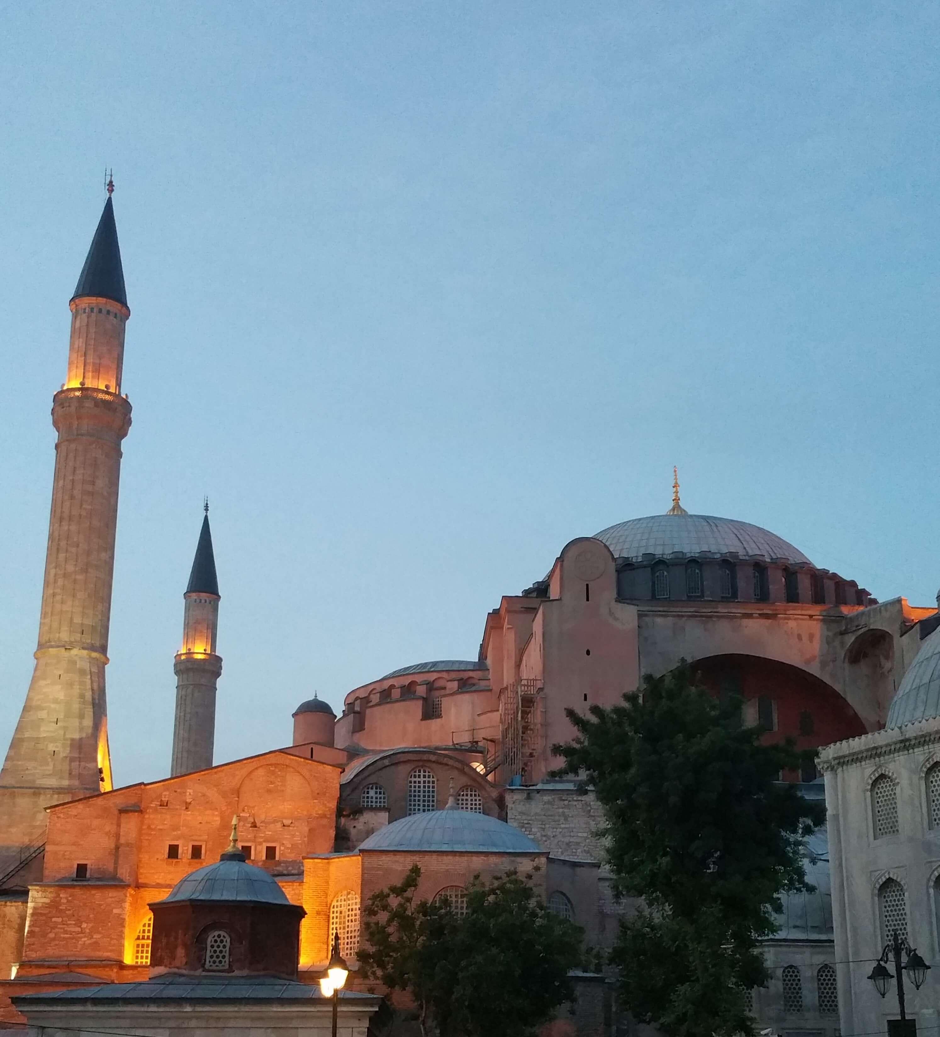 Hagia Sophia by Kicking Back the Pebbles