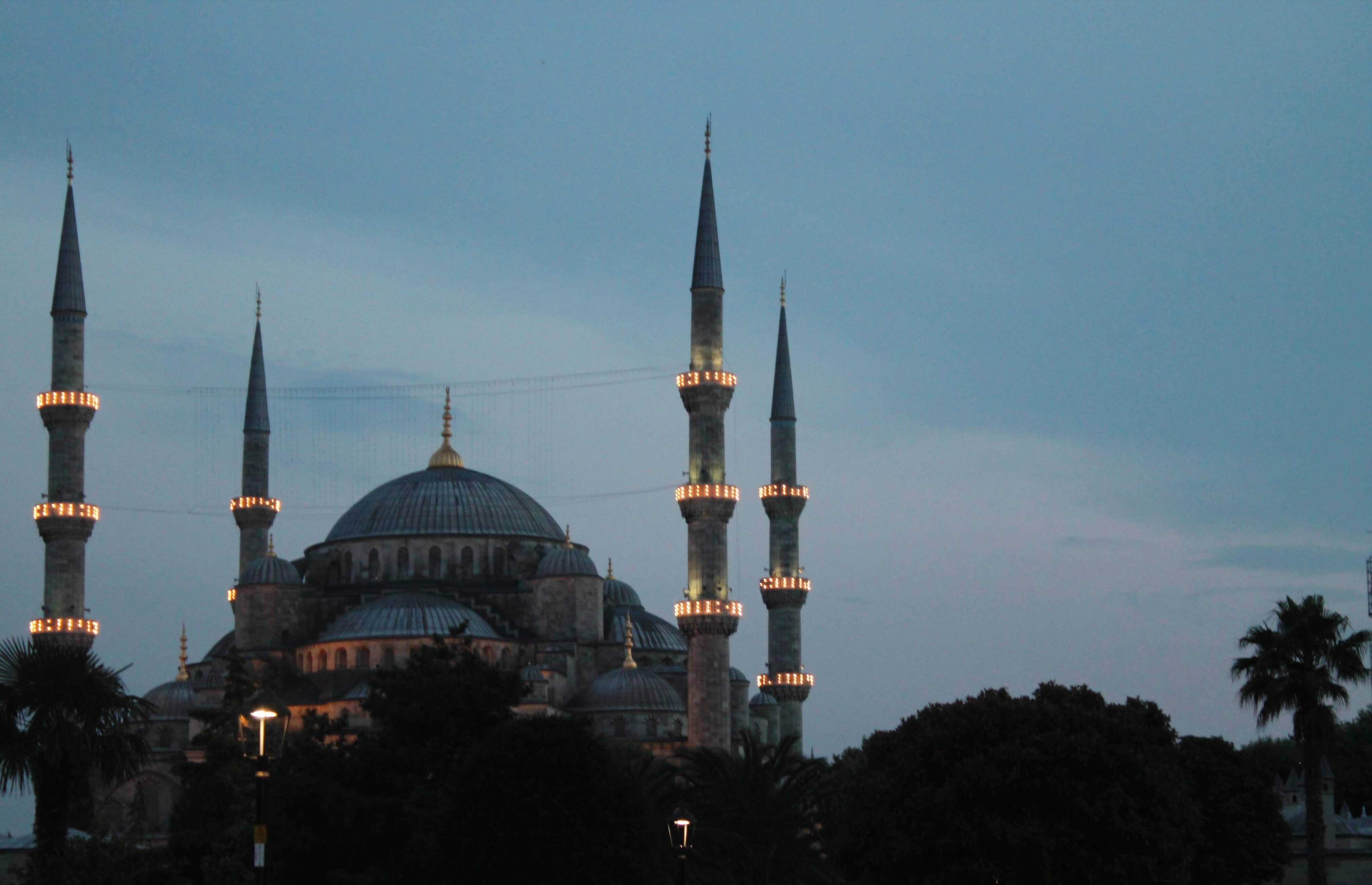 The Blue Mosque by Kicking Back the Pebbles (July 2015)