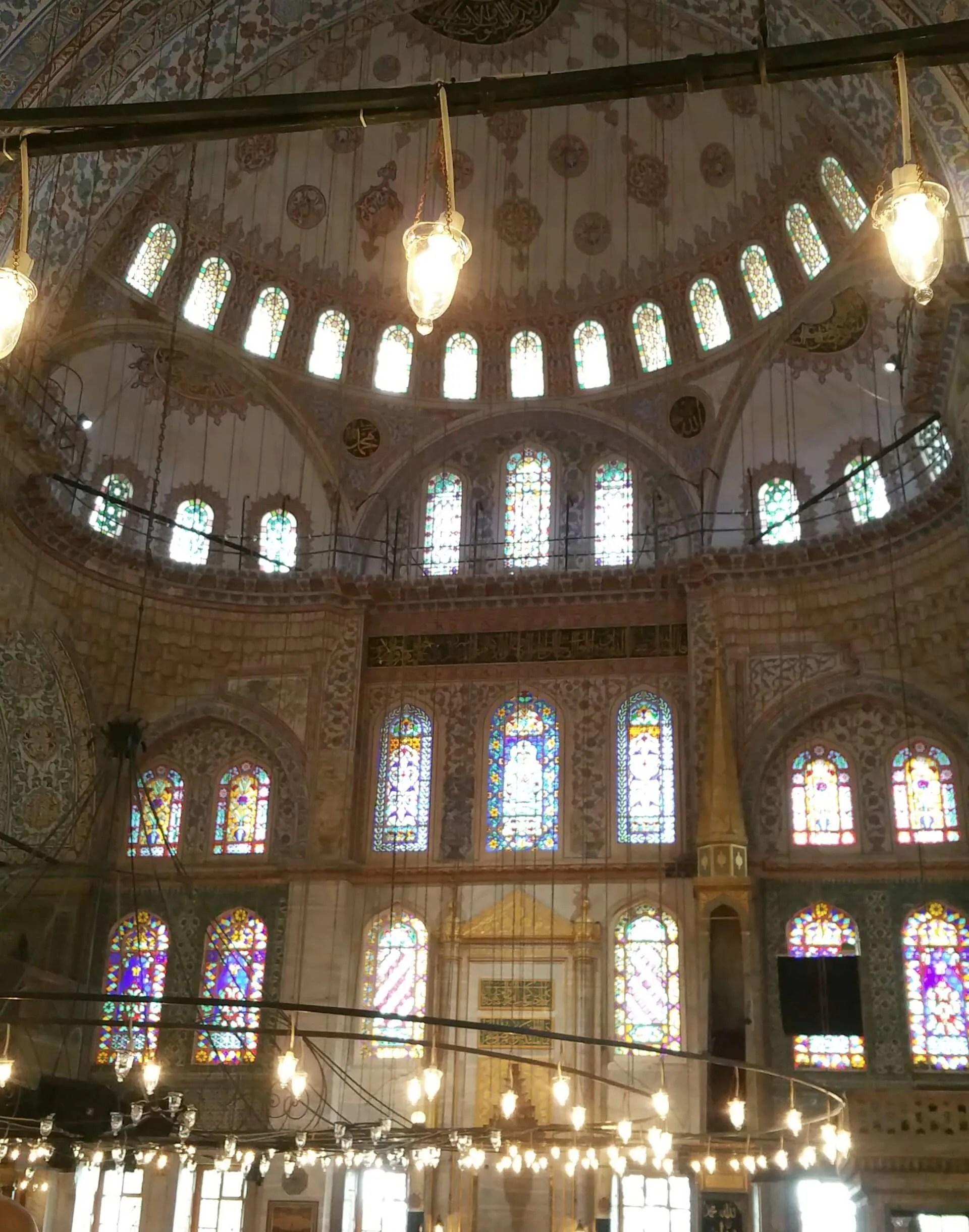 The Blue Mosque_interior