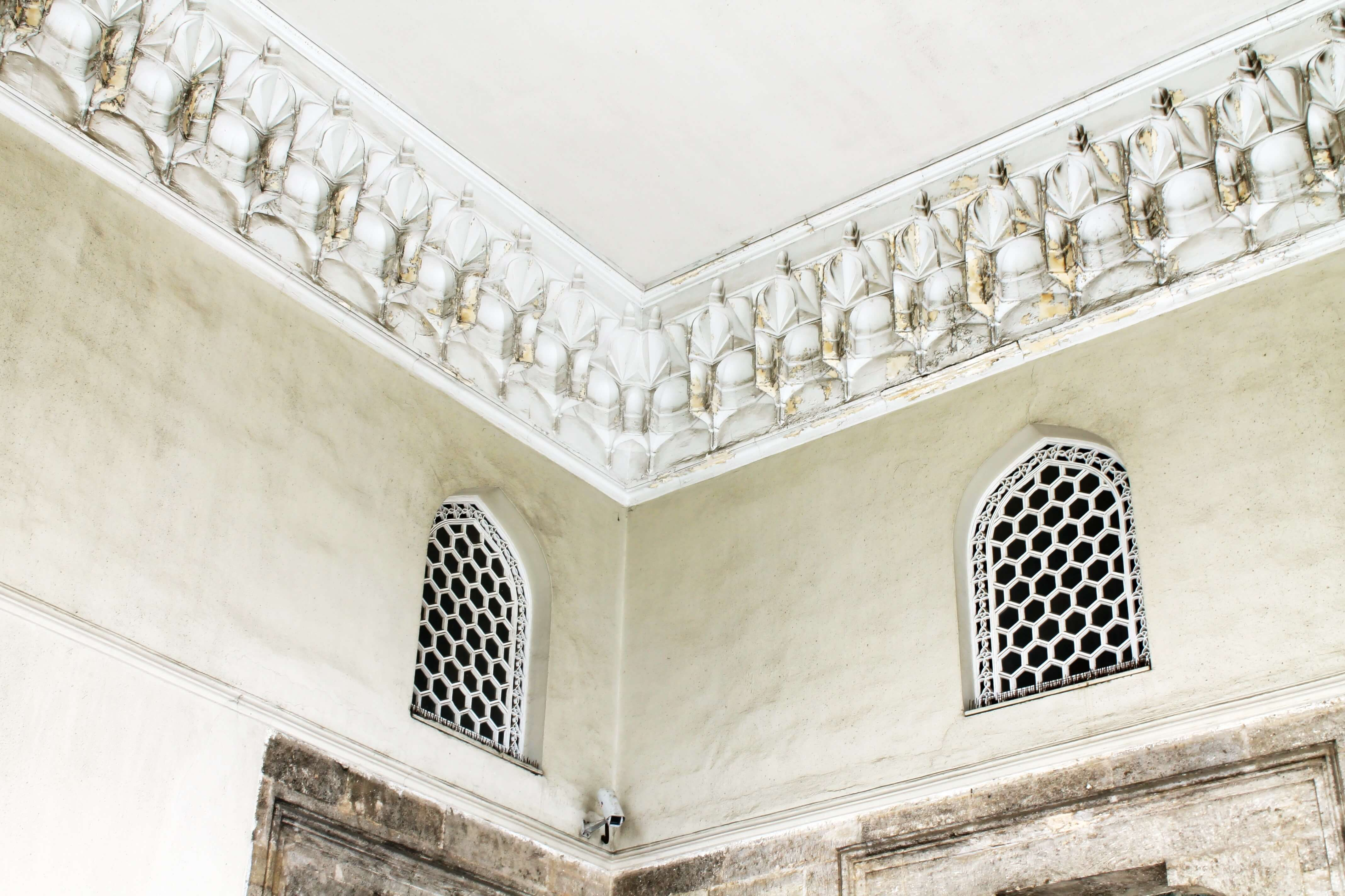 Circumcision Chamber_exterior_detail_Topkapi 4th Courtyard