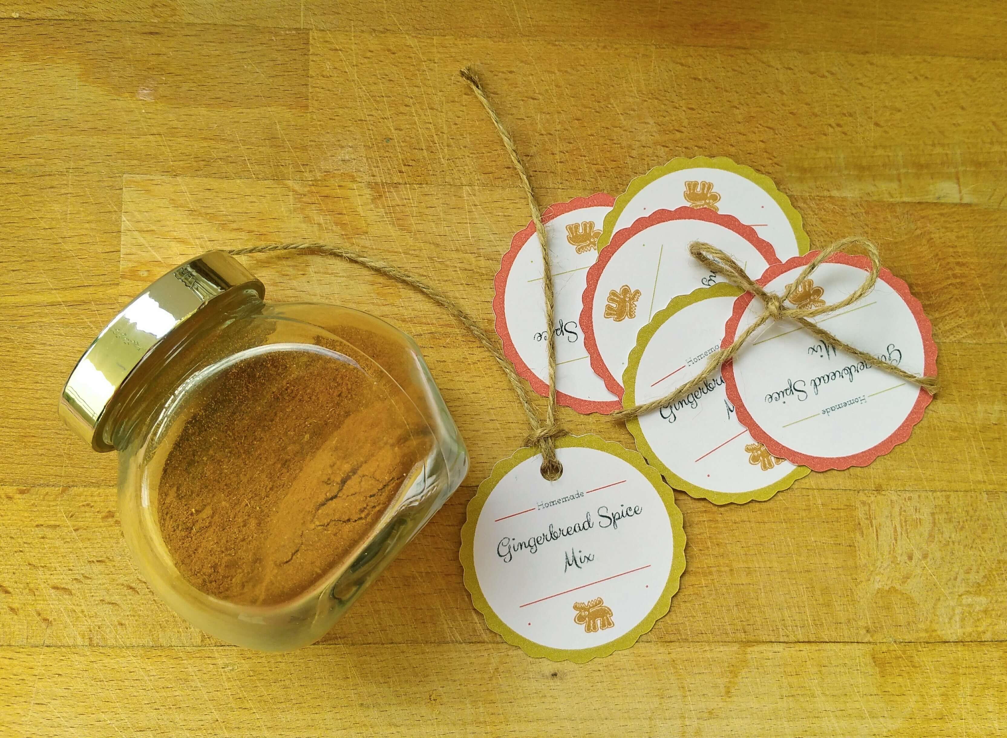 Gingerbread Spice Mix | Kicking Back the Pebbles