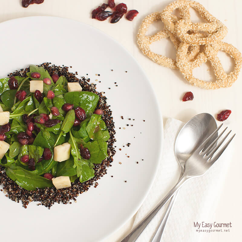 Super Food Salad @My Easy Gourmet