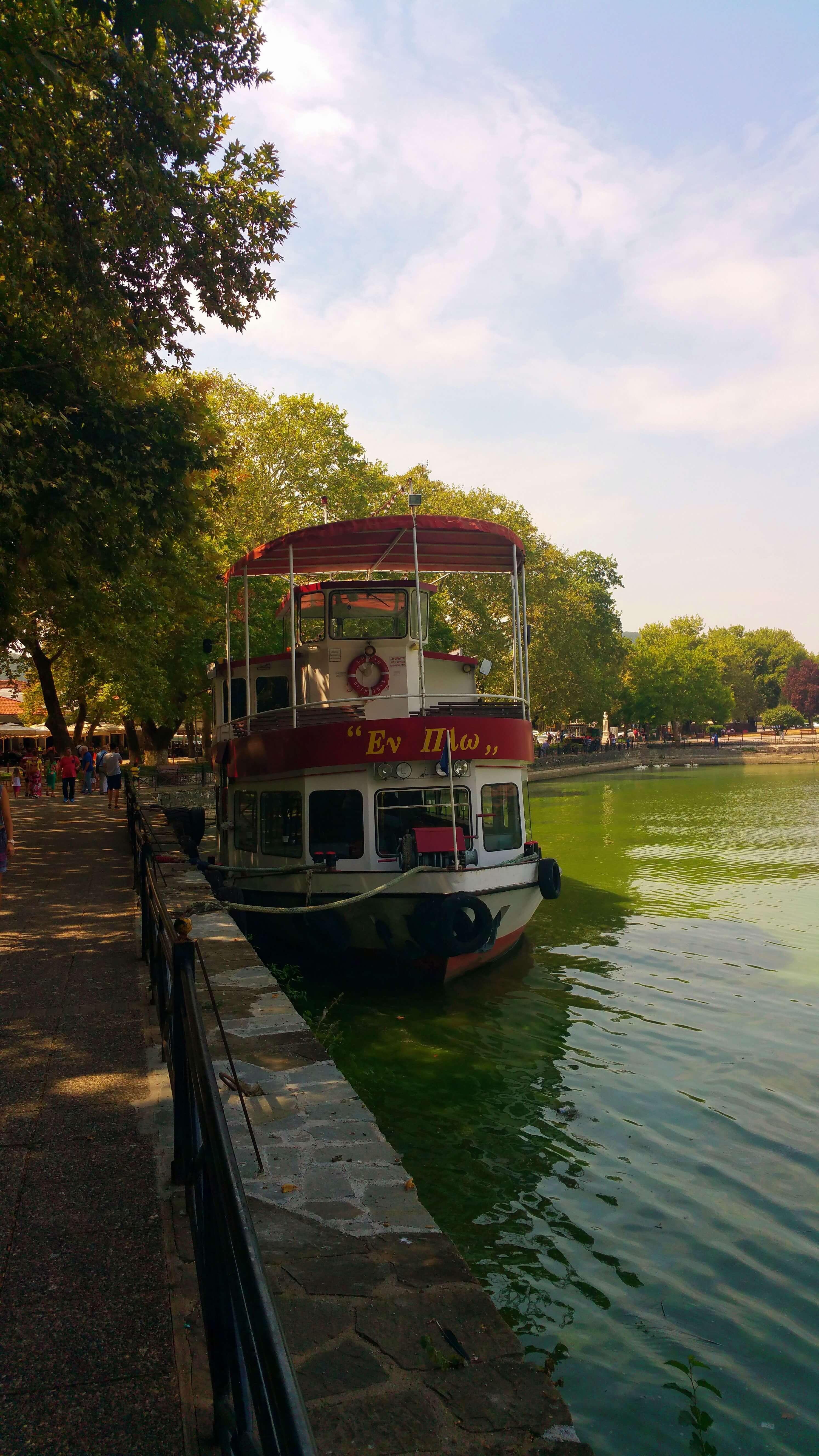 Ioannina Lake | Kicking Back the Pebbles