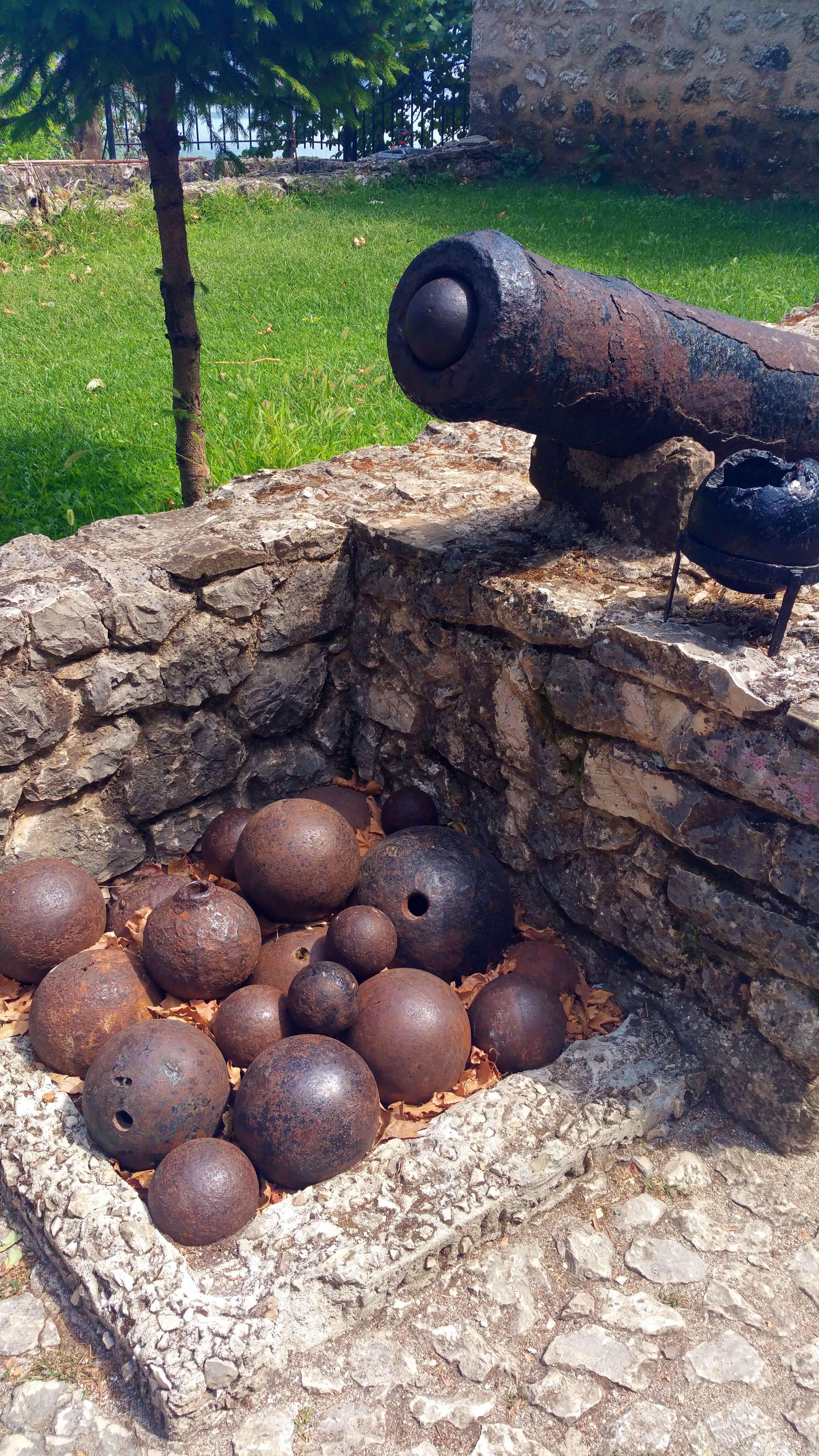 Ali Pasha's cannon - Ioannina, Greece   Kicking Back the Pebbles