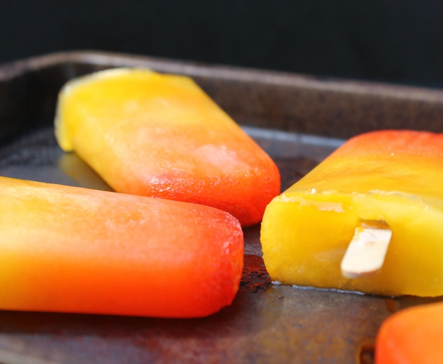 Tequila Sunrise Popsicles recipe
