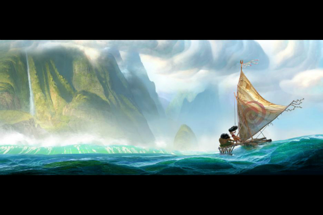 Moana Artwork