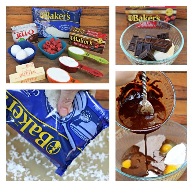 Toasted Coconut Chocolate Torte #SweetenTheSeason supplies