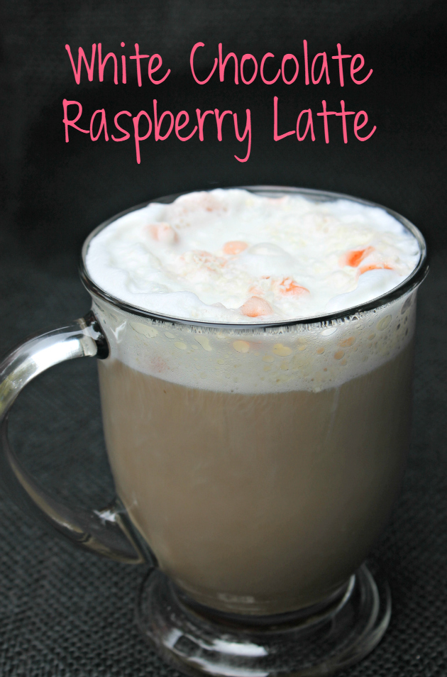 Tired of paying the high prices for your favorite coffee drinks? Try this White Chocolate Raspberry Latte Recipe using your coffee maker and milk frother.